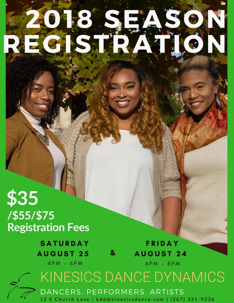 2018 KDD Registration